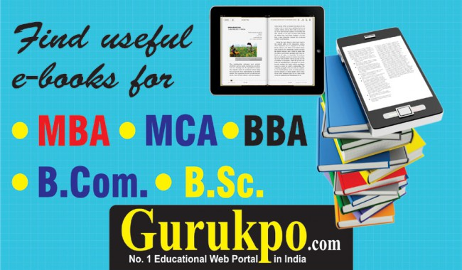 Free Study Notes for MBA MCA BBA BCA BA BSc BCOM MCOM MSc | Free