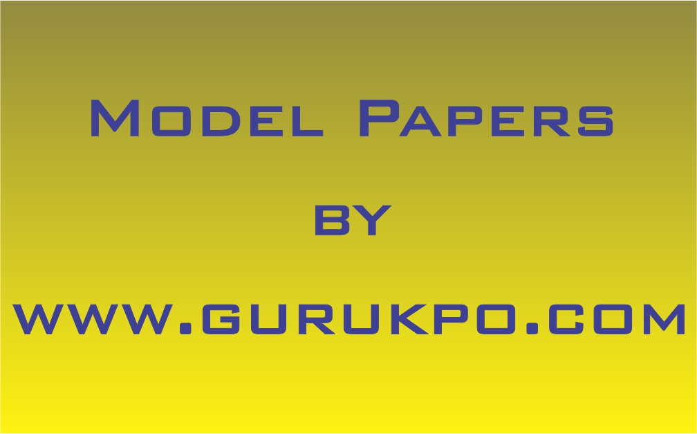 Plant and Animal Physiology(Model Paper) | Free Study Notes for MBA